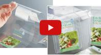食品用軟包装・シュリンクラベルの試作 動画